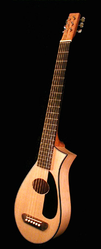 Review The Vagabond Travel Guitar